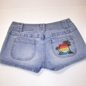 Lilu embroidered shorts (A-4)